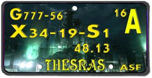 Thesras Plate by Matareno