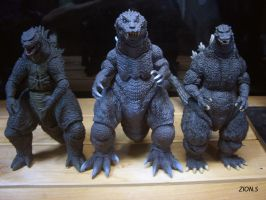 SH Monsterarts Godzilla [2001] by ZION227