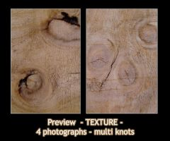 - TEXTURE - wood knot MULTI by Von-Chan
