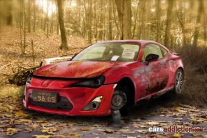 Abandoned Toyota FT-86 by ryn004