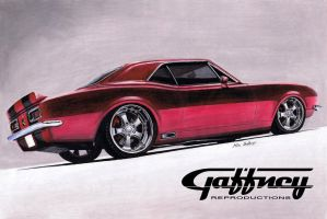 Colored Pencil Camaro by theGaffney