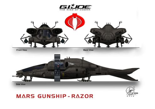 Gunship Razor Landingmode by Paul-Muad-Dib