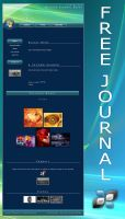 FREE VISTA JOURNAL by DigitalPhenom