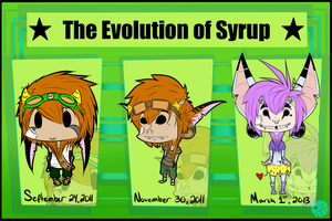 Happy 2nd Birthday Syrup by JakaIope
