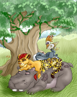 Naptime for the Lion Guard by VictoryDanceOfficial