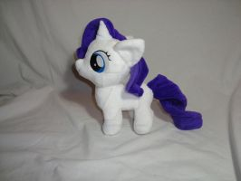 Rarity filly plush by PlanetPlush
