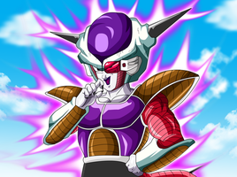 Frieza the Powerful Maniac 2 by Ninja-Master-Tommy