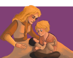 Baby brother by LessienMoonstar