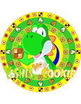 Yoshi's New Cookie Logo by DarkraDx