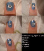 Hetalia mochi nails 2 by Bakeneko14