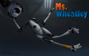Ms. Wheatley (Scrapped) by LilShock