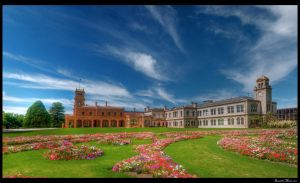 Werribee Mansion Panorama HDR by DanielleMiner
