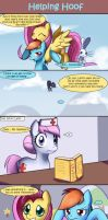 Helping Hoof by Solar-Slash