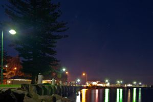 Sorrento Foreshore late at night by djzontheball