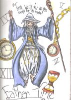 Father Time: Master of Numerals by thedarkenedkeeper