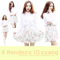 PNG Pack #6: Ulzzang Girl [Catbeis] by Catbeis