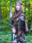 elven archer leather armor by Lagueuse