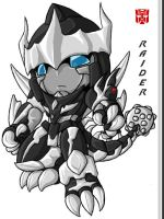 Chibi Raider - Colored by Autobot-Windracer