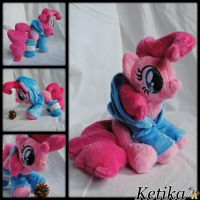 Pinkie Pie plush by Ketikaket