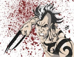 Daken's Fury by Jason-FH-Art