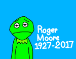 Kermit's Sad That Roger Moore Died by MikeEddyAdmirer89