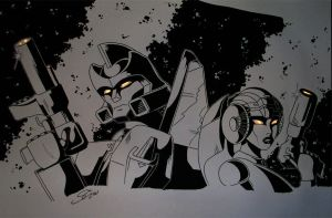 Springer an Arcee by night by Vibes-away