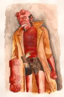 Hellboy by defoartist