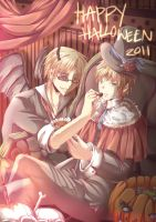 APH : Sweet o Bitter Halloween by neokirii