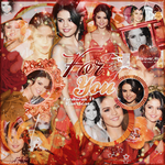 Blend / For You / Selena Gomez Ft ICantScape by PamHoran