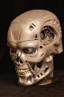T800 head by DavidDoylearts