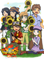 Digimon Frontier 02 - New Frontier -- Poster 1 by mizukijin