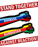 Stand with Donbass and Kurdistan by Party9999999