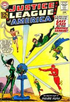 Madame Hydra takes on the Justice League! by Gwhitmore