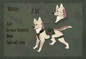 Zachary (War Dogs) by CrankyPup