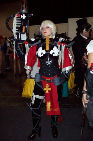 Warhammer cosplay The_Warhammer_Sister_of_Battle_by_phixix