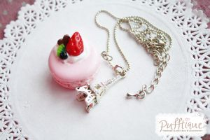 Macaroon Necklace by li-sa
