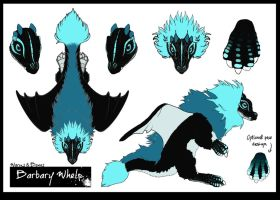 Barbary Whelp design #2 by LisaToms