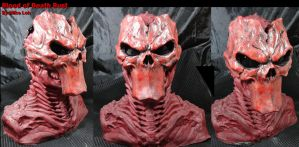 Blood Death  Demon Jason Bust by Uratz-Studios