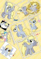 Derpy Hooves collage by mel2003