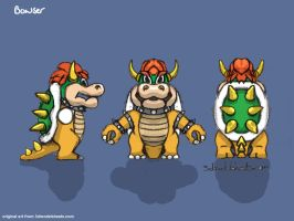Bowser blueprint by hhh316