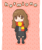 Harry Potter: Hermione by atomicspacemonkey