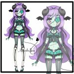 demon adoptables closed by AS-Adoptables