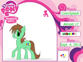 ColorSplash ref by DarkChocaholic