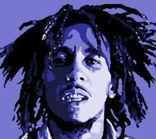 Bob Marley Paint By Number Art Kit by numberedart