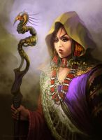 The Sorceress by FerdinandLadera