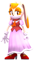 Vanilla The Rabbit Render by Nibroc-Rock