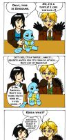 APH x Pokemon: Lost In Translation - Squirtle by Maru-sha