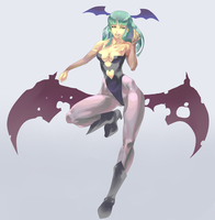 Morrigan Beyond by daremaker