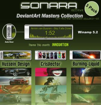Sonara DA Masters 3 Pack by quadh