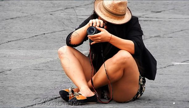 The Photographer by photo-tlacuilopilo